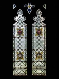 Alexander Gascoigne post WW1 Lady Chapel Thanksgiving window.