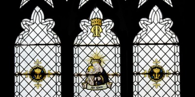 Alexander Gascoigne post WW1 Lady Chapel east window.