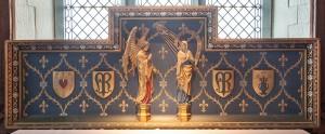 Lady chapel altar Reredos