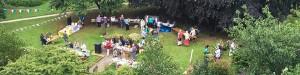 St Mary Magdalene church outdoor fair event