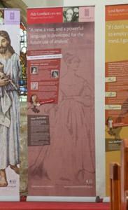 Ada Lovelace interpretive display