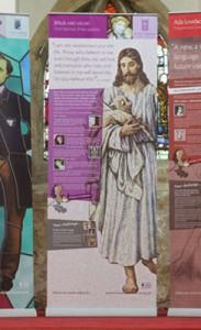 Jesus interpretive display