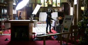 BBC4 filming a documentary on Ada Lovelace