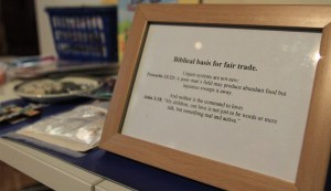 Biblical basis for fair trade goods