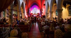 A bursting church for Torkard Ensemble's 5th Anniversary party concert
