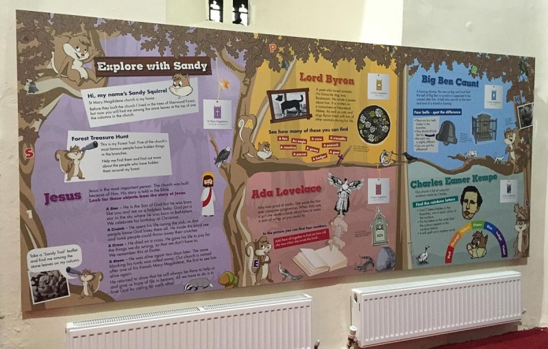 Children's interpretation | St Mary Magdalene Church Hucknall