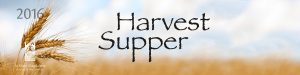 2016 Harvest Supper event advertisement