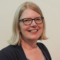 Jane Haywood, interim Churchwarden