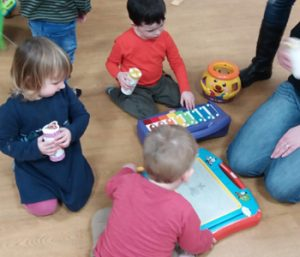 Play and Praise church group for 5 year olds and under